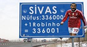 Sivas Belediyesi'nden Robinho paylaşımı