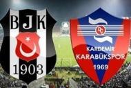 Beşiktaş - Kardemir Karabükspor maç sonu