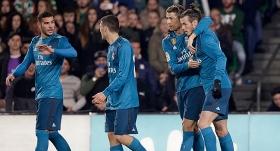 Real Madrid-Real Betis maçında 8 gol