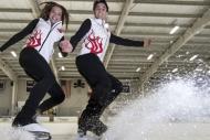 Buz dansında büyük başarı