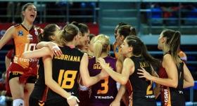 Galatasaray'da tur sevinci