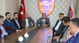 """""""Geleceğin Karabükspor'unu kuruyoruz"""""""