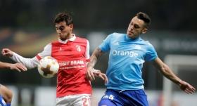 Horta'nın golü Braga'ya yetmedi