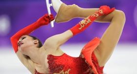 Buz pateninde altın madalya Zagitova'nın
