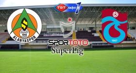 Trabzonspor, Alanyaspor'a konuk oluyor