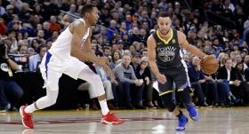 Warriors, Curry ile kazandı