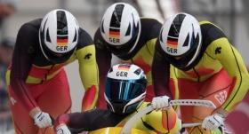 4'lü bobsled yarışını Almanya kazandı