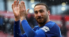 """Everton taraftarı """"Cenk Tosun"""" dedi"""