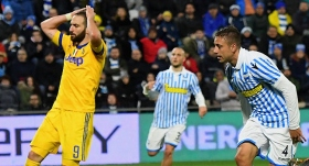Juventus'a SPAL'dan çelme