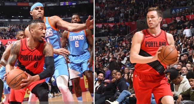 Amerikan Basketbol Ligi nde (NBA) Los Angeles Clippers ı 122-109 yenen Portland  Trail Blazers 74f2c5547
