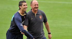 Scolari: Ronaldo bana Çin'i sordu