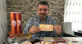 Galatasaraylı taraftardan tarihi koleksiyon