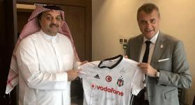 Fikret Orman'dan Katar bakanına ziyaret