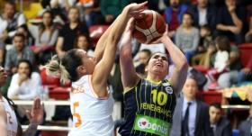 Çukurova Basketbol, Fenerbahçe'yi 1 sayıyla geçti!