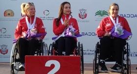 Paralimpik Atıcılık Dünya Kupası'nda büyük başarı