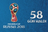 Rusya 2018 Geri Sayım - 58 gün kaldı