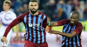 Trabzonspor'da Burak ve Onazi sevinci