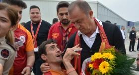 Galatasaray kafilesi Antalya'da