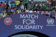 Figonun takımı Ronaldinhonun takımını yendi