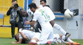 Bursaspor'da galibiyet sevinci
