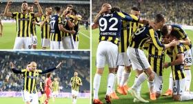 Fenerbahçe, Kadıköy'de dört köşe