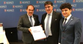 TFF, EURO 2024 adaylık dosyasını sundu