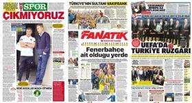 """""""UEFA'da Türkiye rüzgarı"""""""