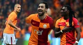 Galatasaray'ın golcüleri, Beşiktaş'ı 3'e katladı