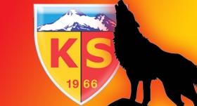 """Kayserispor'un sembolü """"kurt"""" oldu"""