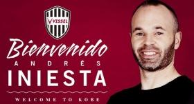 Vissel Kobe, Iniesta'yı duyurdu