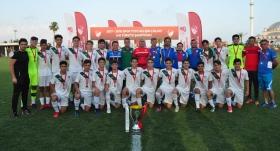 Elit 15 Yaş Altı Ligi'nde şampiyon Bursaspor