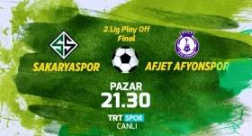 Sakaryaspor - Afjet Afyonspor maçı TRTSPOR'da
