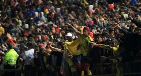 Binlerce taraftar, milli takımlarını Rusya'ya uğurladı