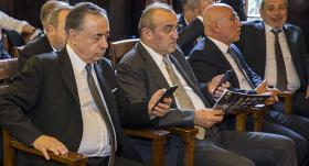 Ali Fatinoğlu ve Ozan Korkut, Mustafa Cengiz'i tebrik etti