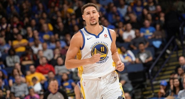 Warriors'ı Klay Thompson sırtladı Görseli