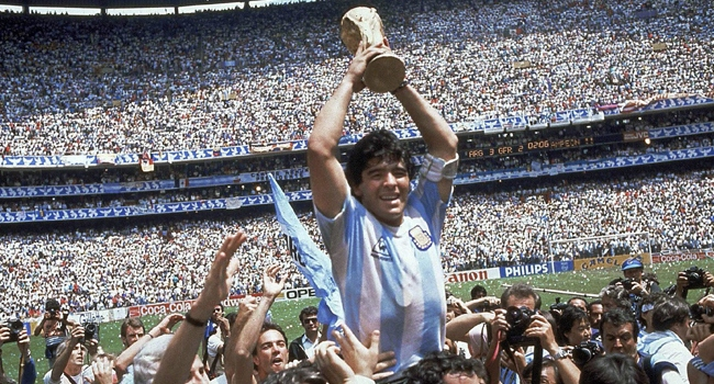 Diego Armando Maradona (Arjantin)