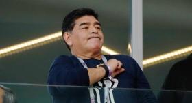 Maradona'dan örnek davranış
