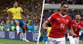 Brezilya İsviçre maç özeti 1-1