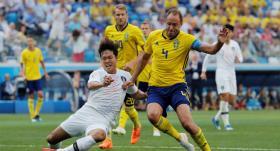 İsveç Güney Kore maç özeti 1-0