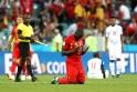 Belçika - Panama  maçından yansıyan kareler