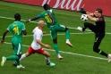Polonya-Senegal maçından kareler...
