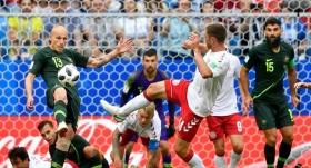 Danimarka Avustralya maç özeti 1-1