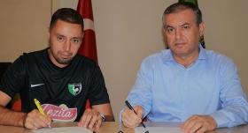 Ismail Aissati 1 yıl daha Denizlispor'da