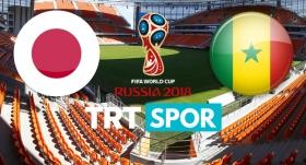 Japonya - Senegal randevusu TRTSPOR'da