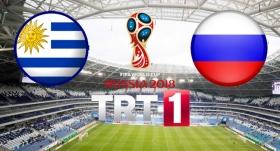 Uruguay ile Rusya 9. maçında