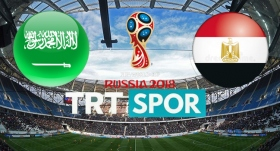 Suudi Arabistan-Mısır maçı TRTSPOR'da