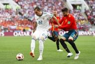 İspanya-Rusya maçından yansıyan kareler