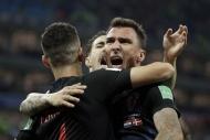 Hırvatistan - Danimarka maçından fotoğraflar