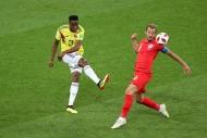 Kolombiya-İngiltere maçından yansıyan kareler