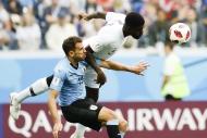 Uruguay-Fransa maçından yansıyan kareler
